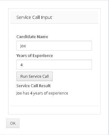 Using the Service Call – Salient Process, Inc